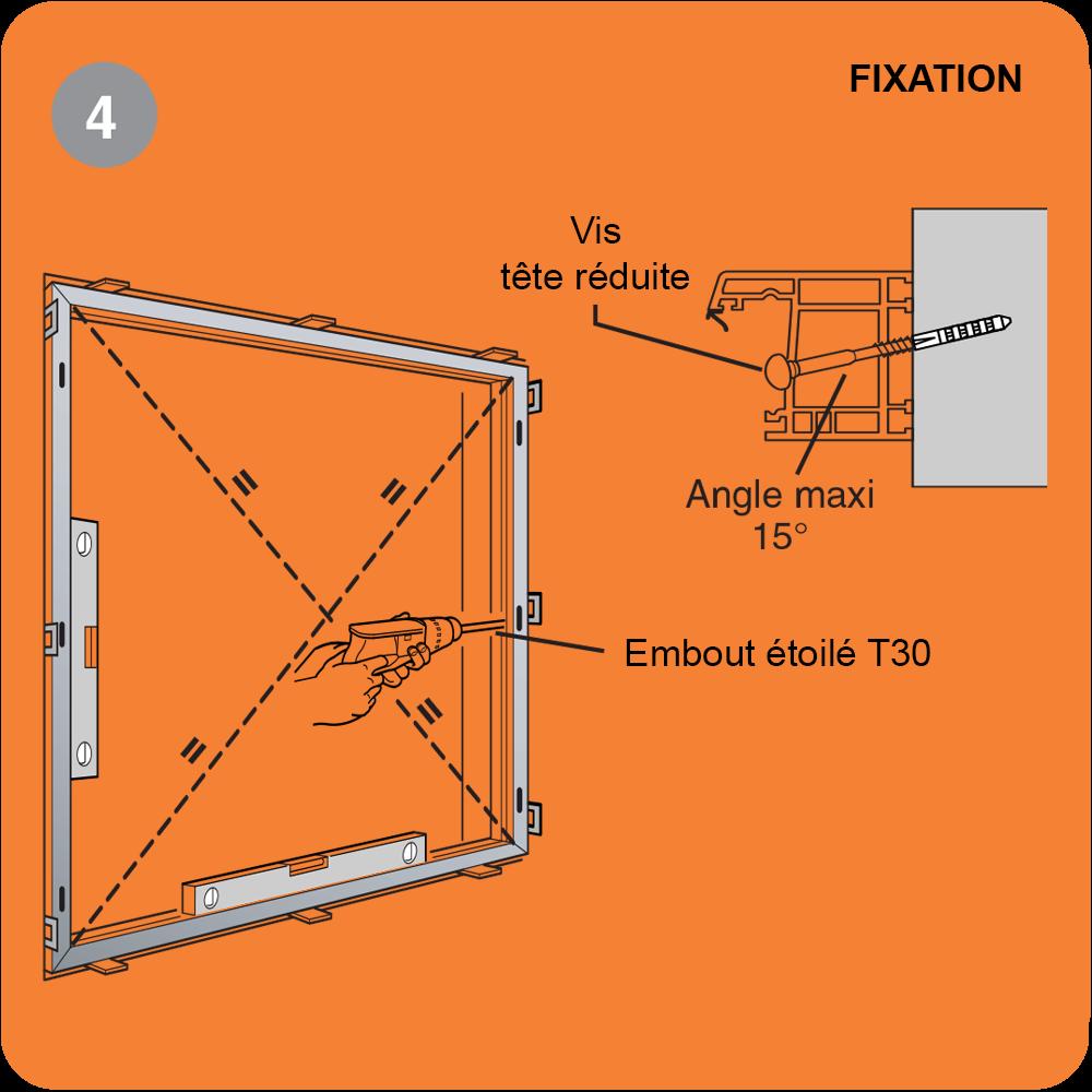 pose de fenêtre et porte fenêtre en tunnel étape 4