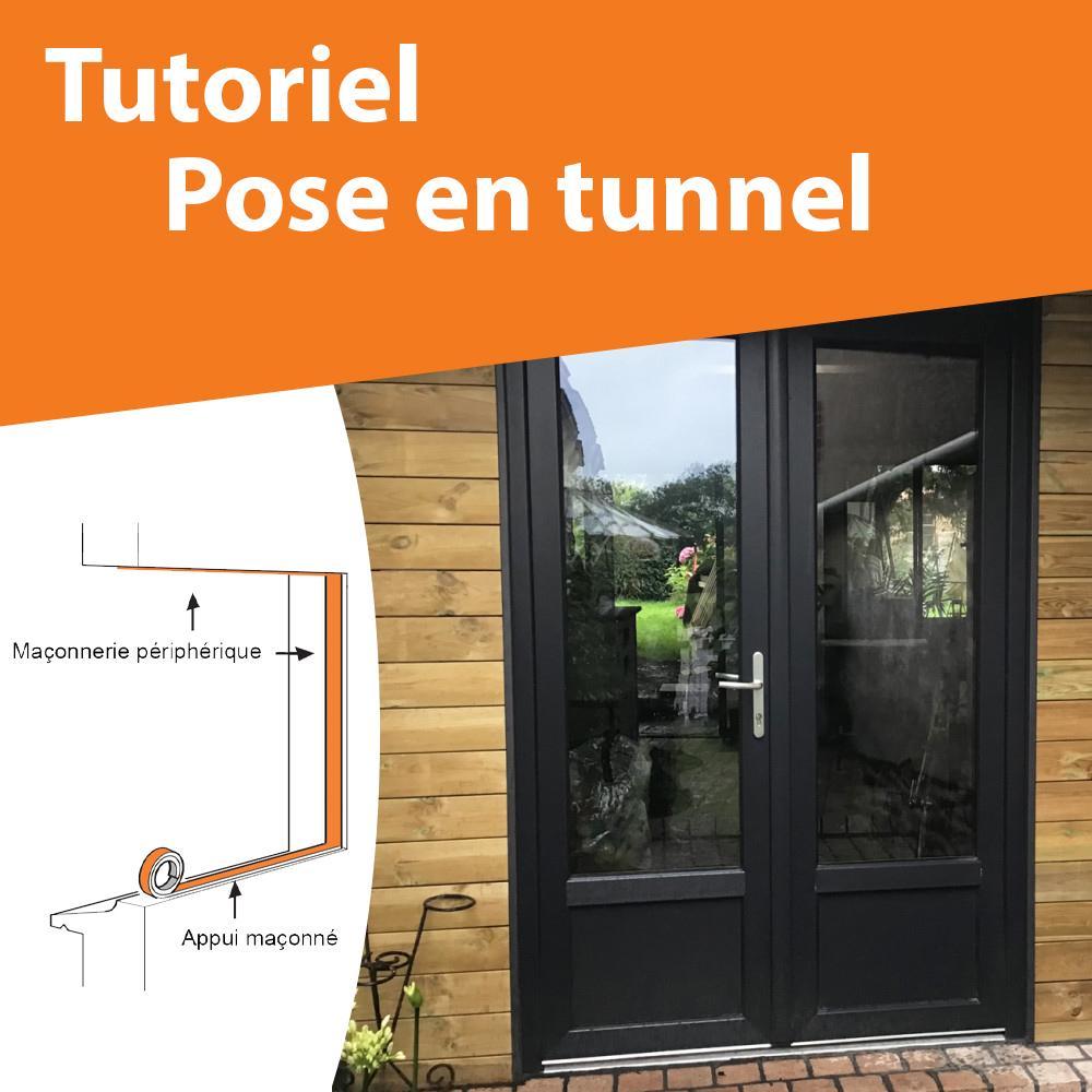 Comment poser ma fenêtre en tunnel ?